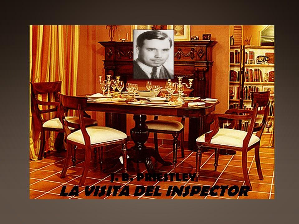 """CLUB DE LLECTURA DE ADULTOS """"JOSÉ BECEIRO"""". LA VISITA DEL INSPECTOR"""