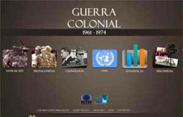 SITE DA GUERRA COLONIAL PORTUGUESA
