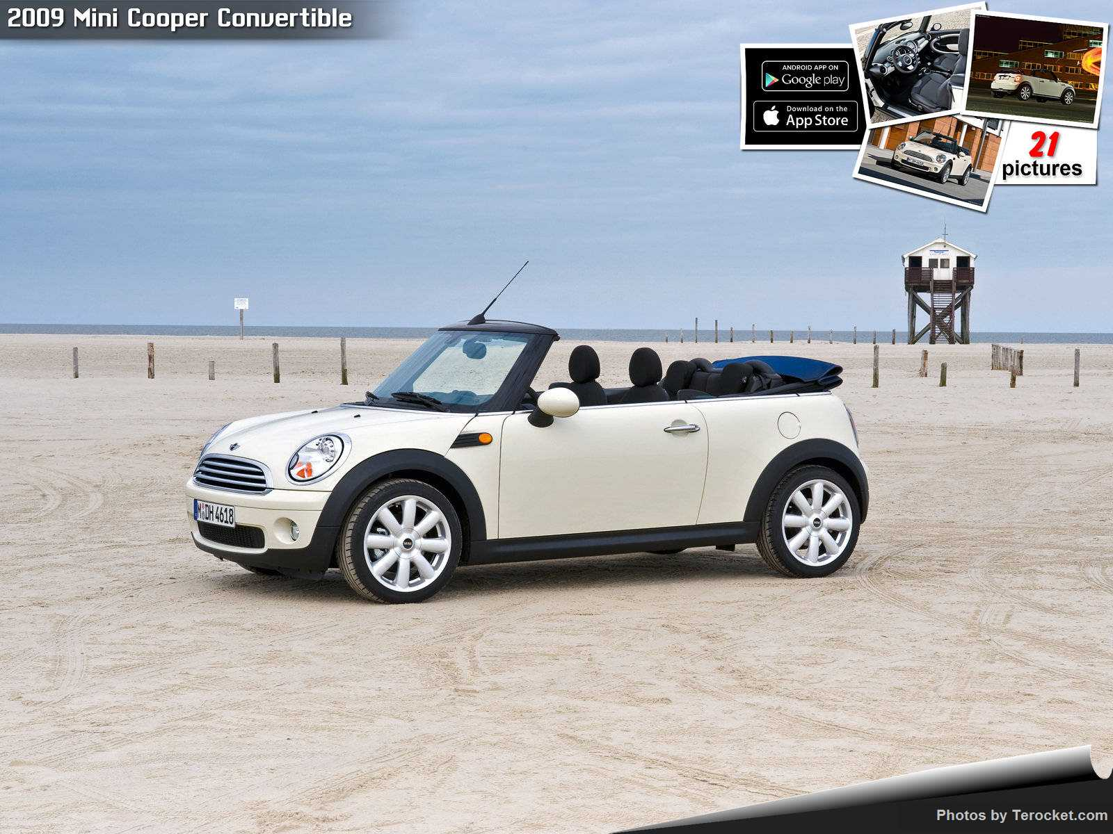 Hình ảnh xe ô tô Mini Cooper Convertible 2009 & nội ngoại thất