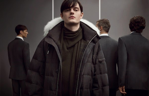 Sam Riley in Ermenegildo Zegna Couture by Stefano Pilati Fall Winter 2014 advertising campaign