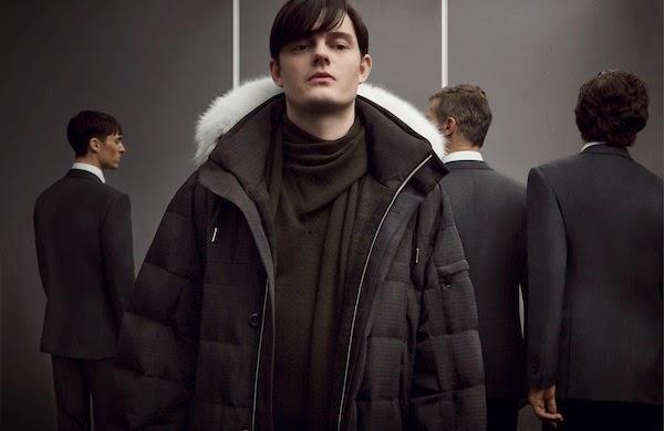 Sam Riley in Ermenegildo Zegna Couture by Stefano Pilati Fall Winter 2014 advertising campaign