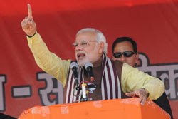 We talk of Development, they talk about only Modi: PM in Bihar