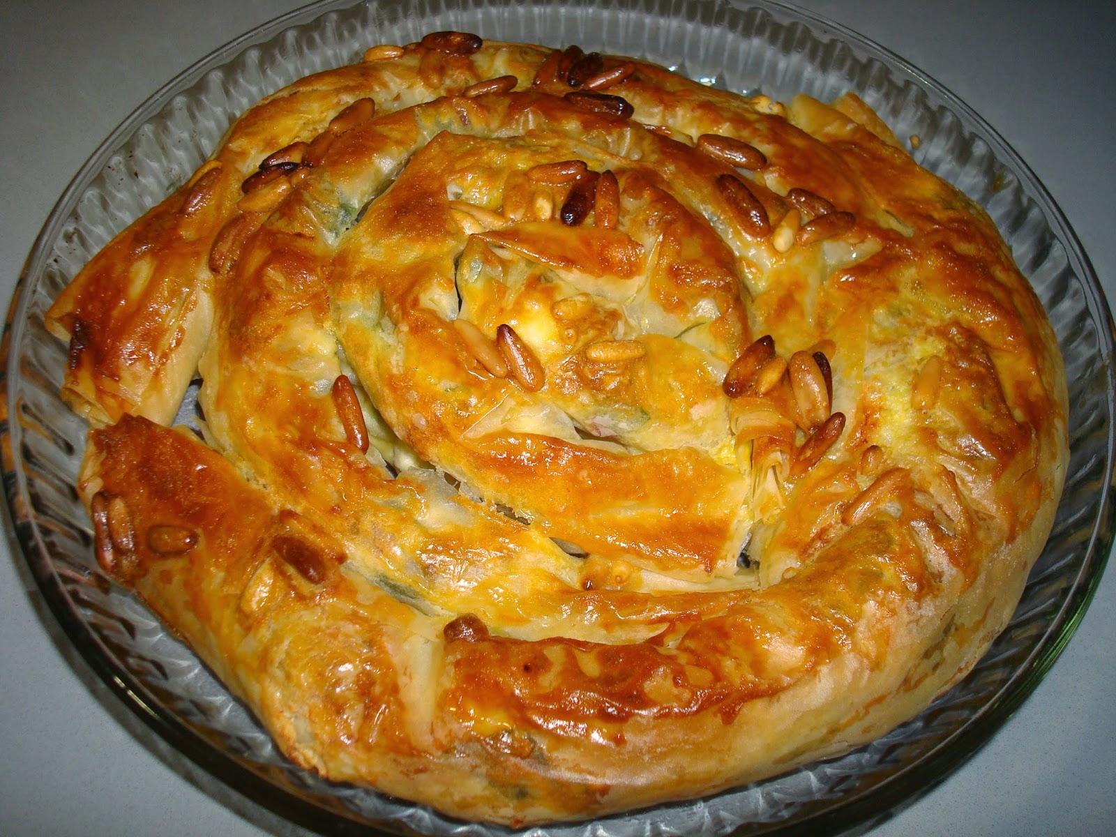pasta filo banitsa bulgaria queso feta