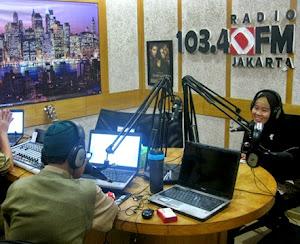 Narasumber Talkshow Radio DFM