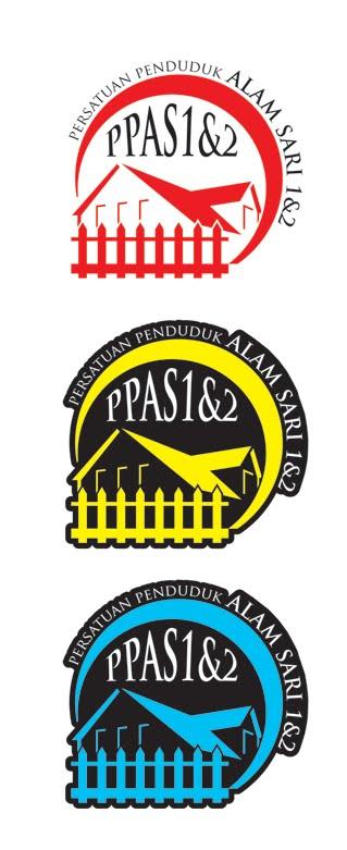 fqemo design windscreen sticker amp logo persatuan penduduk