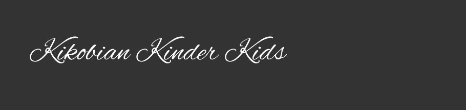 Kikobian Kinder Kids