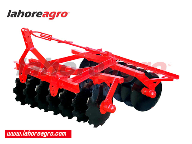 Disc Harrow, Disc Plough, Farm Tractor