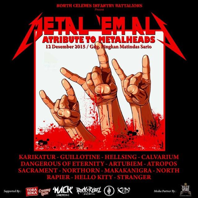 Metal 'Em All - Atribute To Metalheads