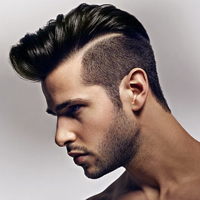 MEN'S HAIRCUTS TRENDS - Slick Back, Quiff, Pompadour & Short Hair ...