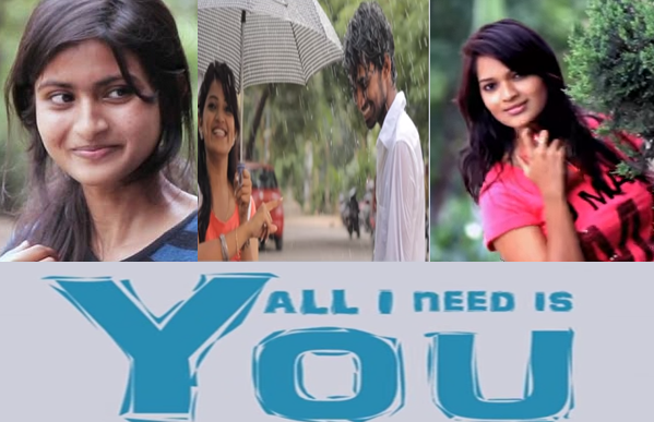 ALL I NEED IS U TELUGU SHORT FILM POSTER