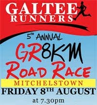 8k race in Mitchelstown, NE Cork. 5th race of Ballyhoura Cork Series