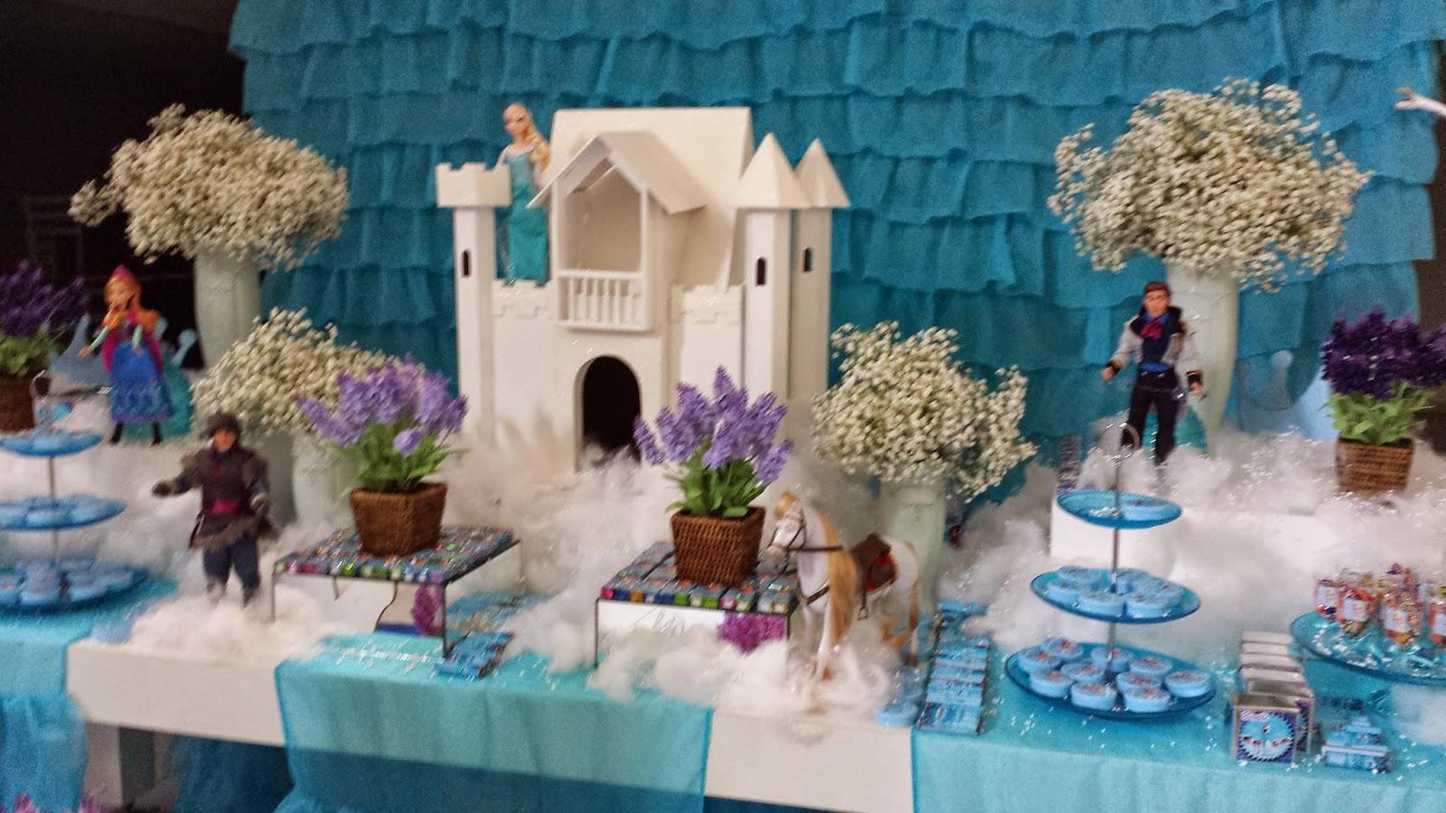 Festas e Cia  Arquitetura e Eventos Frozen Nicolle 9 anos
