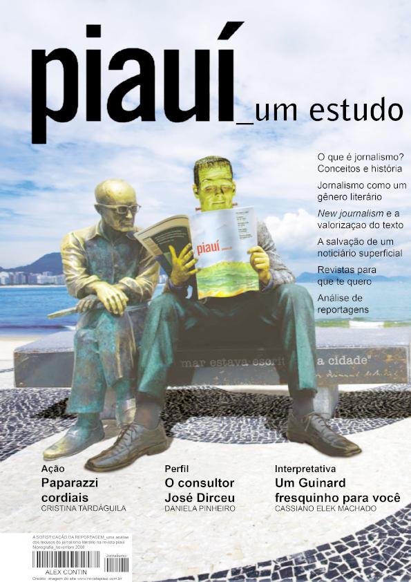 Monografia sobre jornalismo literário e a revista piauí