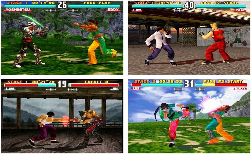 Tekken 3 + FPse  Android