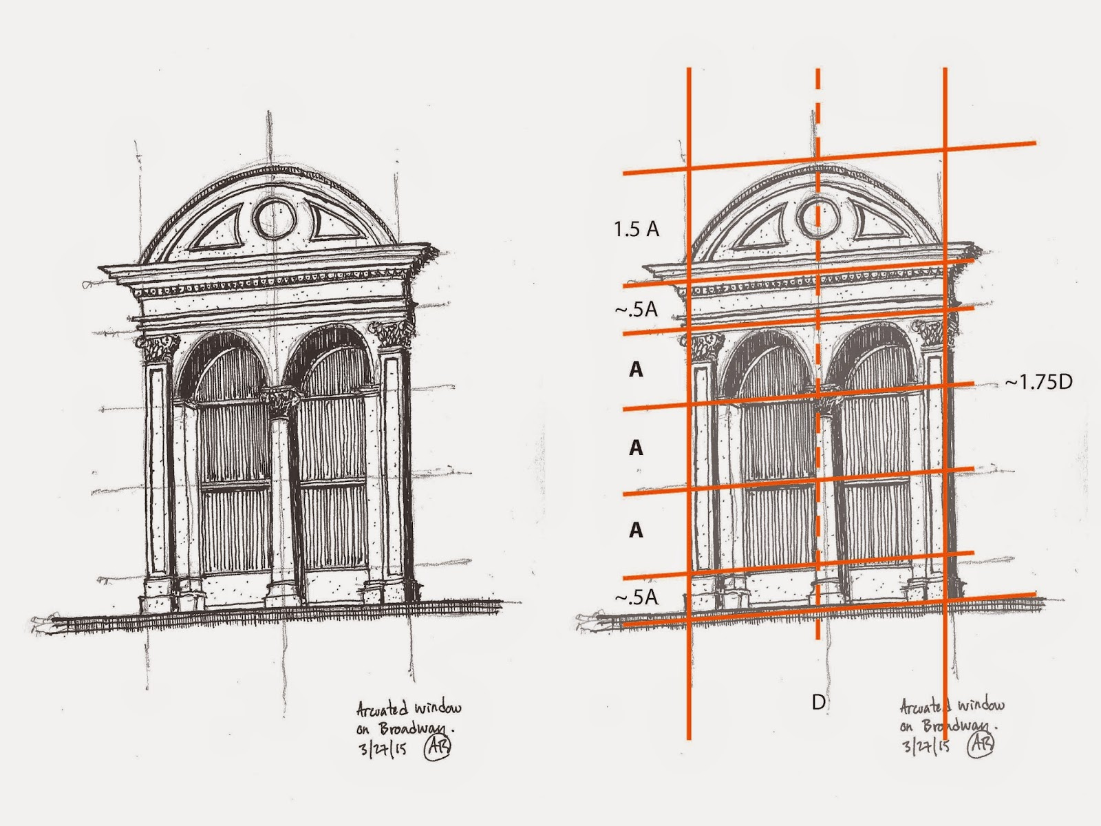 urban sketchers chicago sketching architectural details. Black Bedroom Furniture Sets. Home Design Ideas