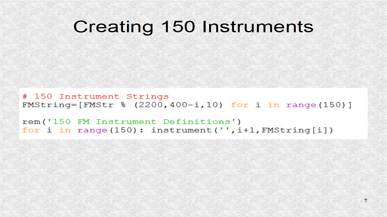 audio programming in python 21 frequency modulation