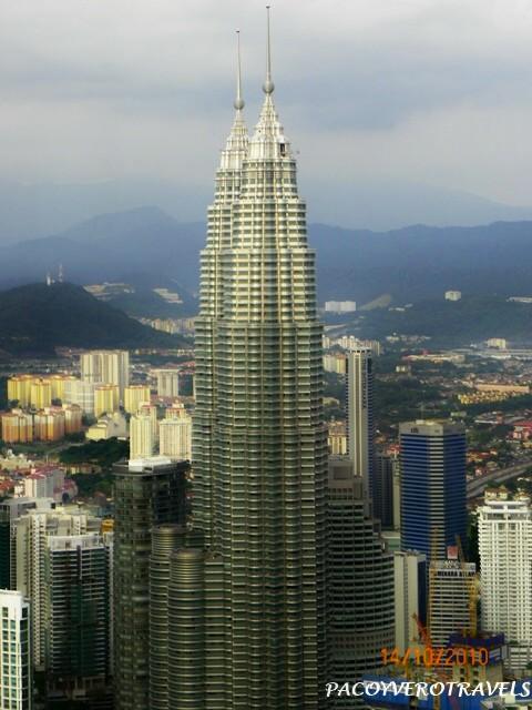 Las Torres Petronas desde la Torre Menara