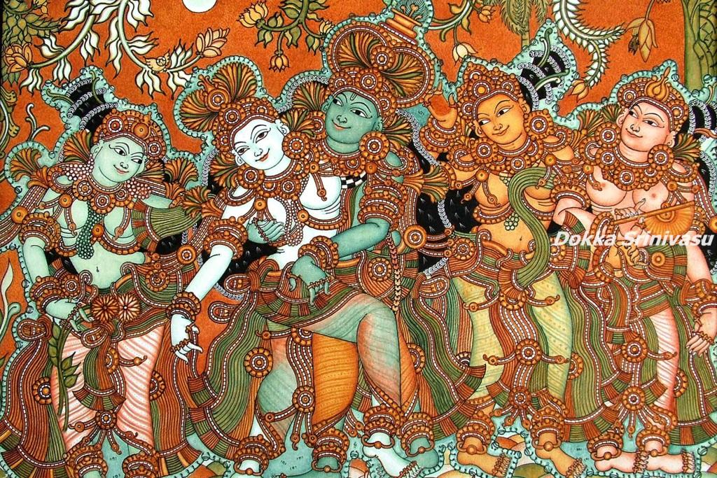 Heritage of India: Kerala Mural Paintings (కేరళ మ్యూరల్ పెయింటింగ్స్)