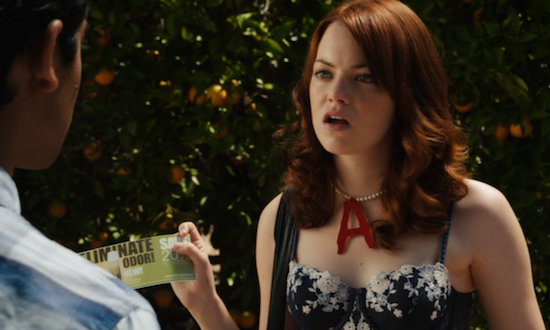 When Fashion Met Film: Teenage Rebellion: Emma Stone in Easy A