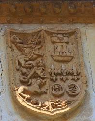 Escudo en el pueblo de Tudanca