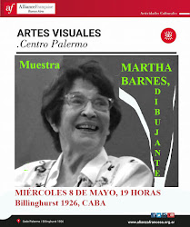 Martha Barnes, Dibujante. Muestra. Inauguración 8 de mayo, 19 horas