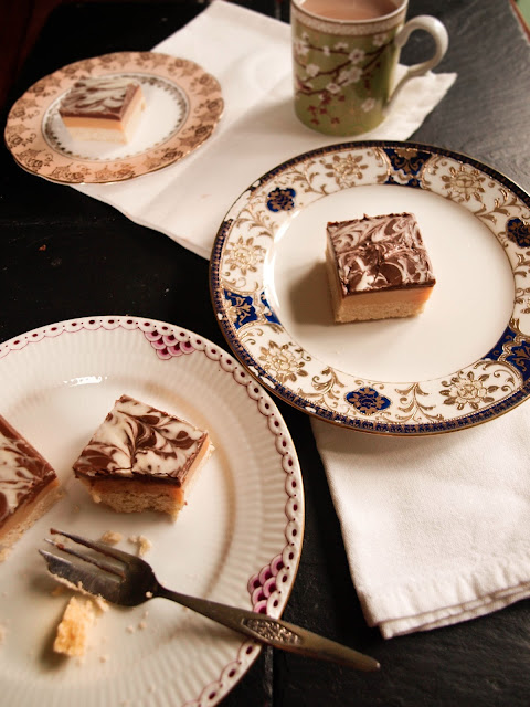 Salted Caramel Shortbread | Pavlova's Dog