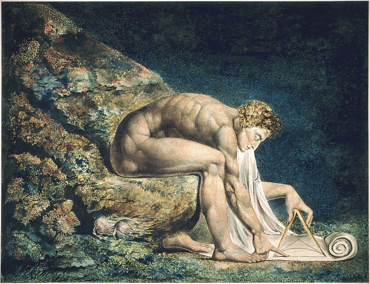 """Newton"" bởi William Blake."
