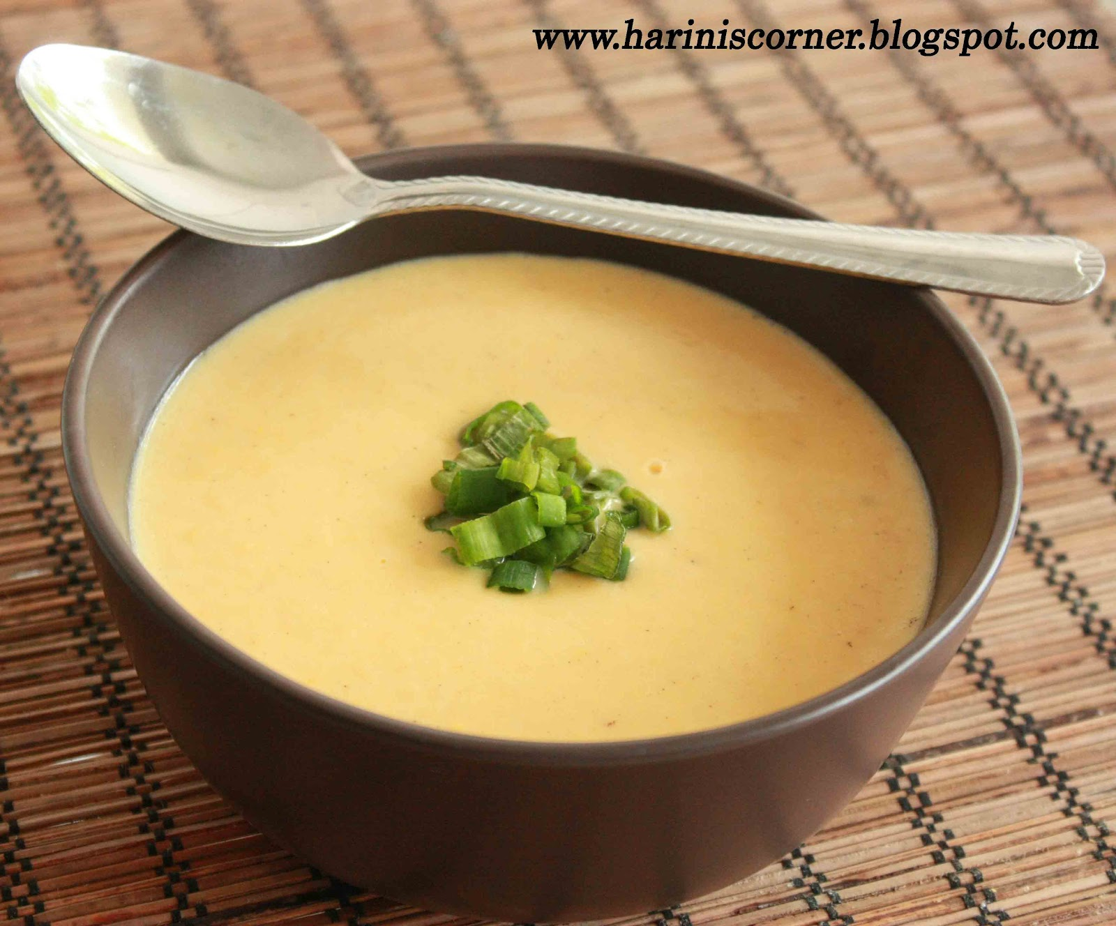 Sugar & Spice: Creamy Sweet Corn Sweet Potato Soup