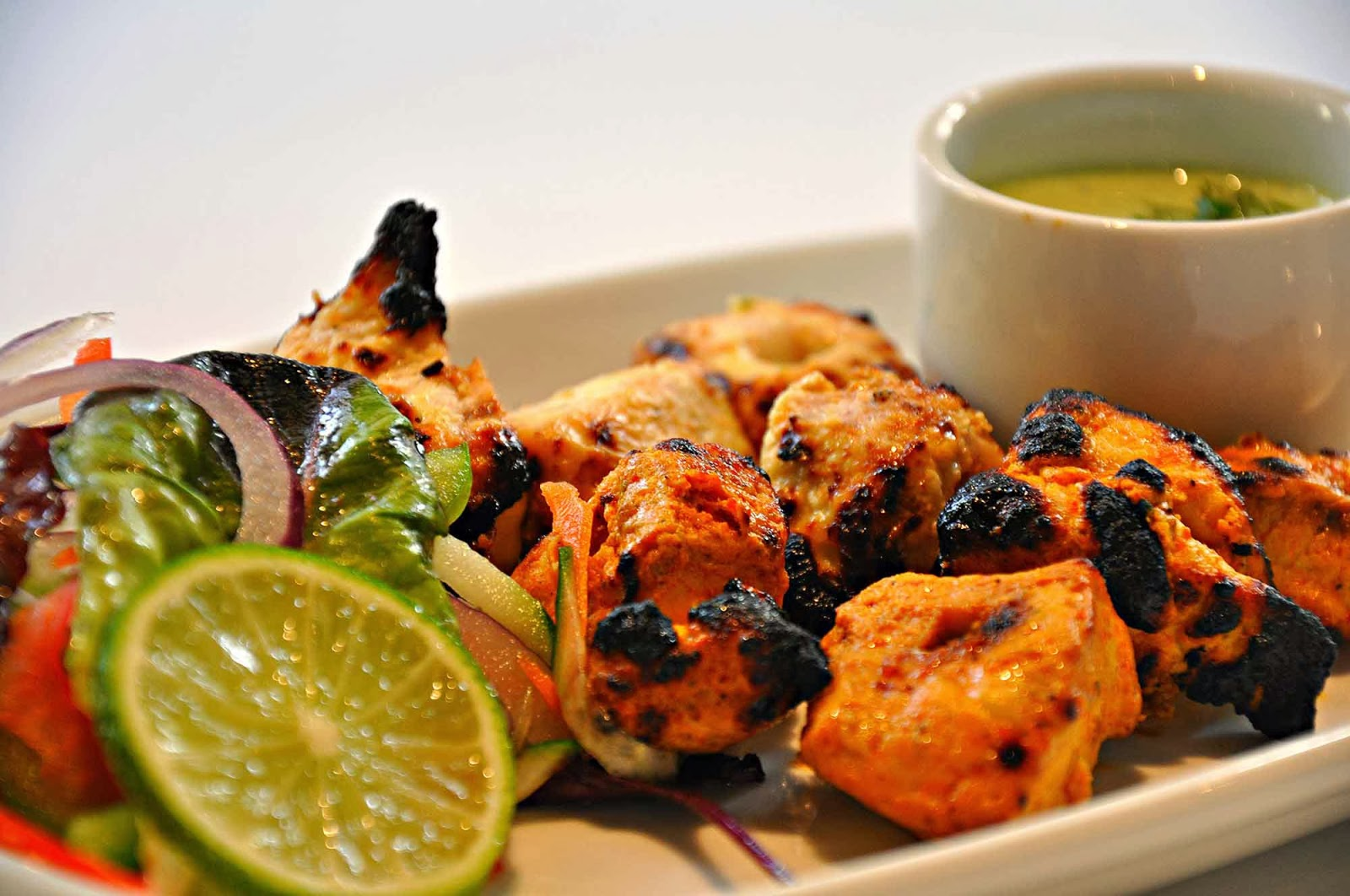 Chicken Tikka at Salt'n Pepper Restaurant in London serving contemporary Pakistani cusinine