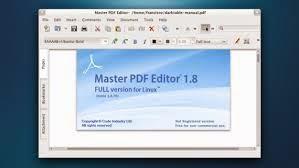 Download Master PDF Editor full free