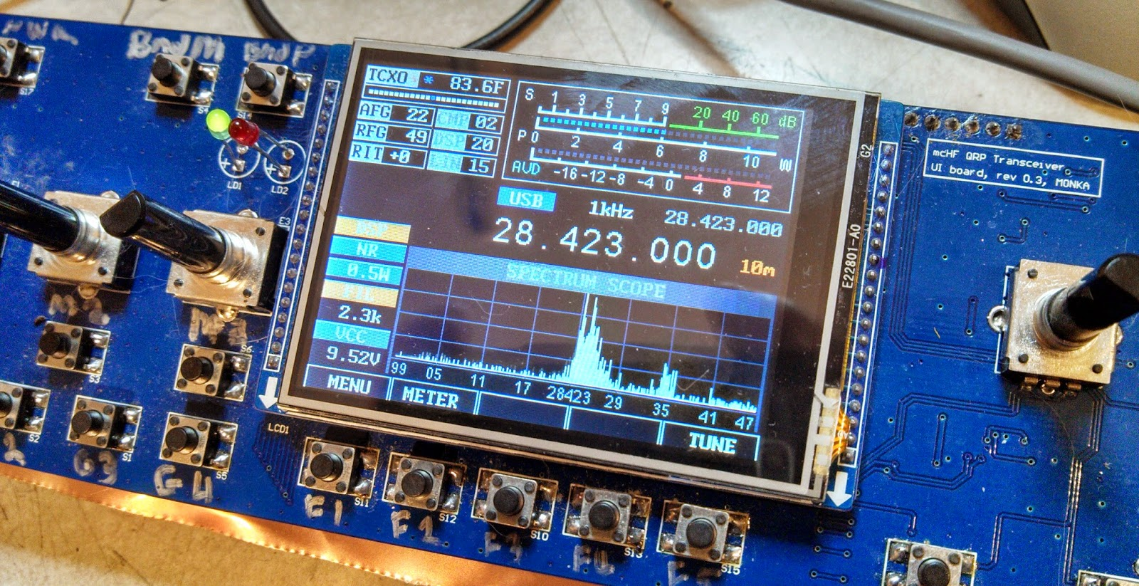 Ka7oeis Blog March 2015 Pin Subwoofer Filter Crossover 11 90 Hz Frequency Circuit On Pinterest Update The Mchf Adding More Features Part 2 Implementing Audio Filters And Fractional I Q Phase Adjustments