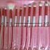 Experimentei: Kit com 18 pincéis rosa-Pra que serve cada um?