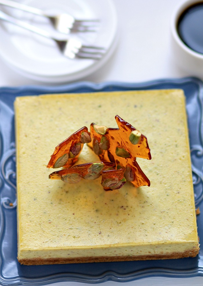 Pistachio Brittle Cheesecake Recipes — Dishmaps