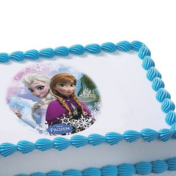 Frozen Cake Decoration Images : Frozen Birthday Cake Images Wishes Images 4U