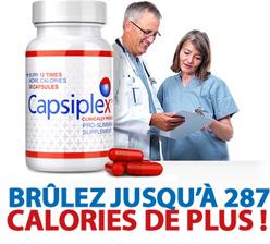 baisse jusqu'à 287 calories