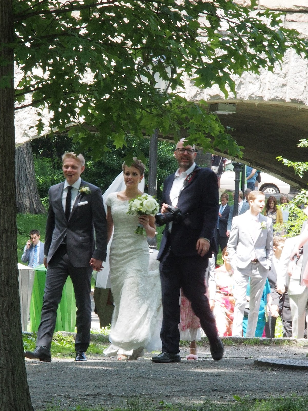 I Think I've been Spotted, #centralpark #nyc #wedding 2014