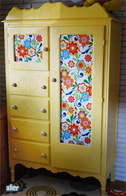Декорируем шкафы своими руками