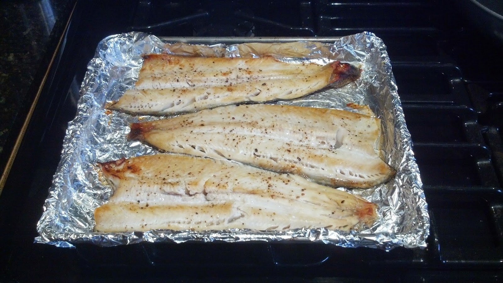 simple broiled trout