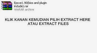 Pilih Extract here