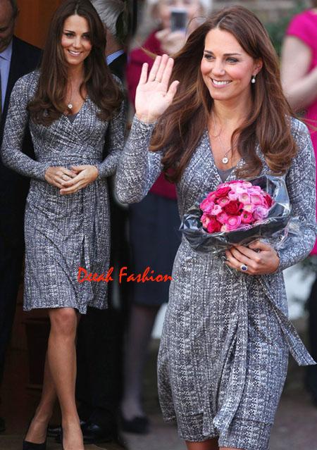 Gaya Baju Hamil Kate Middleton