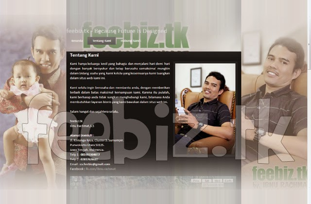 Selamat Datang di Online World Wide Web FEEBIZ.TK - Semoga Sukses - Site Setting by. KLIKMG.COM Website Developer Purwokerto