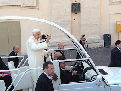 Benedict XVI last popemobile