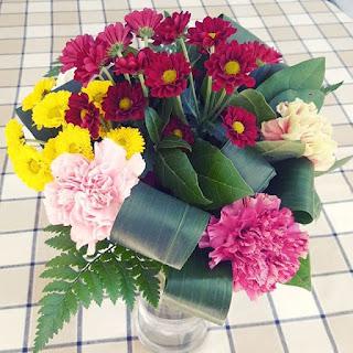 Bouquet de fleurs Marché Farmer's market