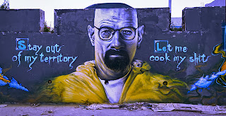 Arte urbano: Heisenberg