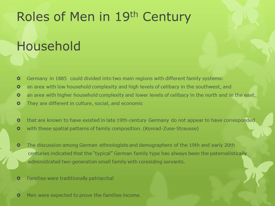 social roles of women 20th century