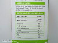 Salmorejo hacendado el blog de las marcas blancas - Calorias boquerones en vinagre ...