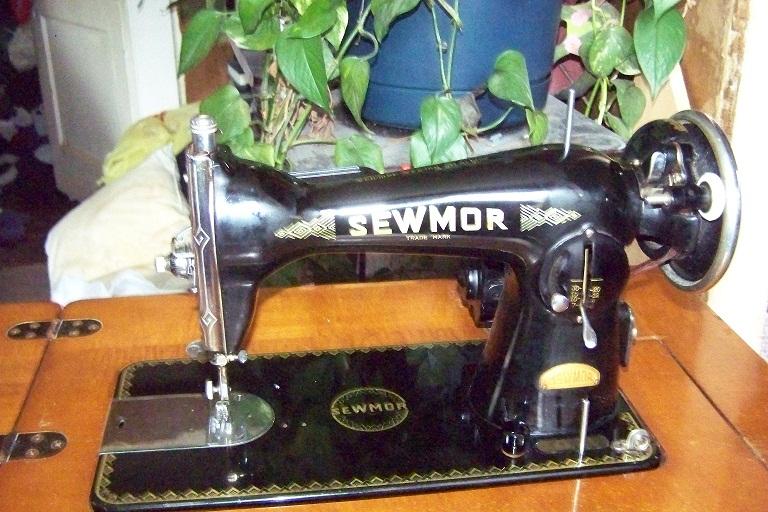 sewmor sewing machine manual