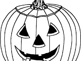 Easy To Color Halloween Coloring Pages