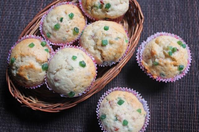 Eggless Tutti Frutti Muffins Recipe - Tutti Frutti Muffins Recipe