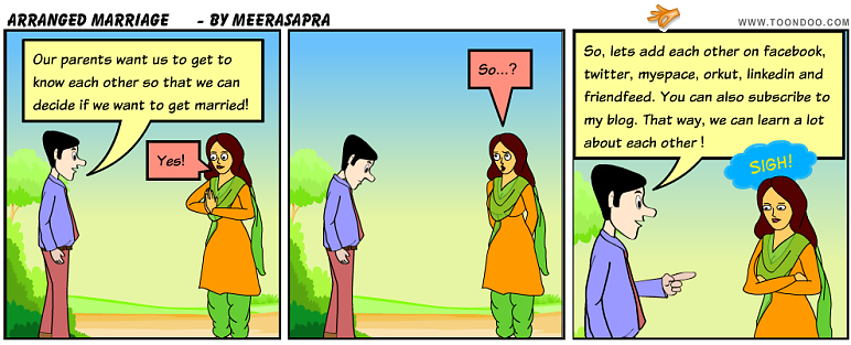 Why arranged marriages are bad